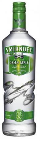 Smirnoff Twist Vodka Green Apple